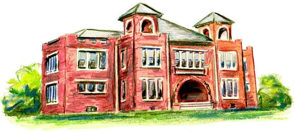 illustration  books  net homes businesses  carol hawkins studio